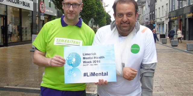 Samaritans & Mental Health Week