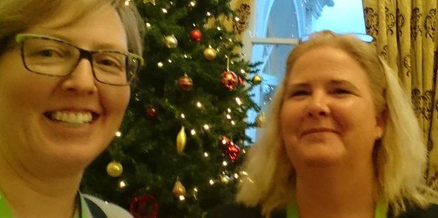 Tina & Claire at MHI 50
