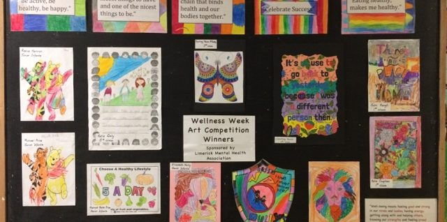 Posters created by the school children