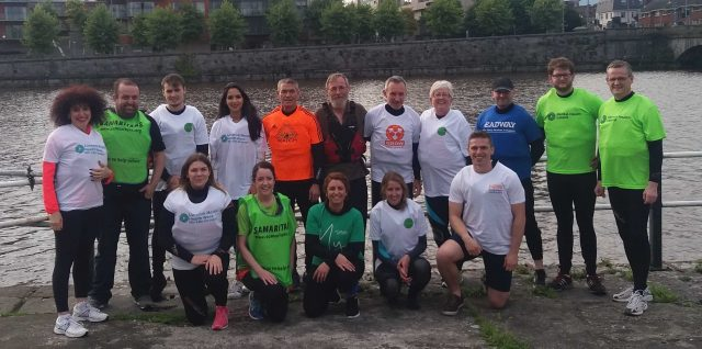 Team building for Limerick Mental Health Week 2017 organisations