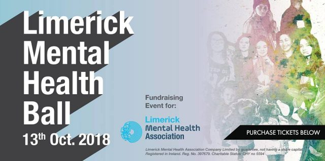 A gala ball is being held as part of Limerick Mental Helath week to fundraise for an excellent cause that really helps the vulnerable in our community.