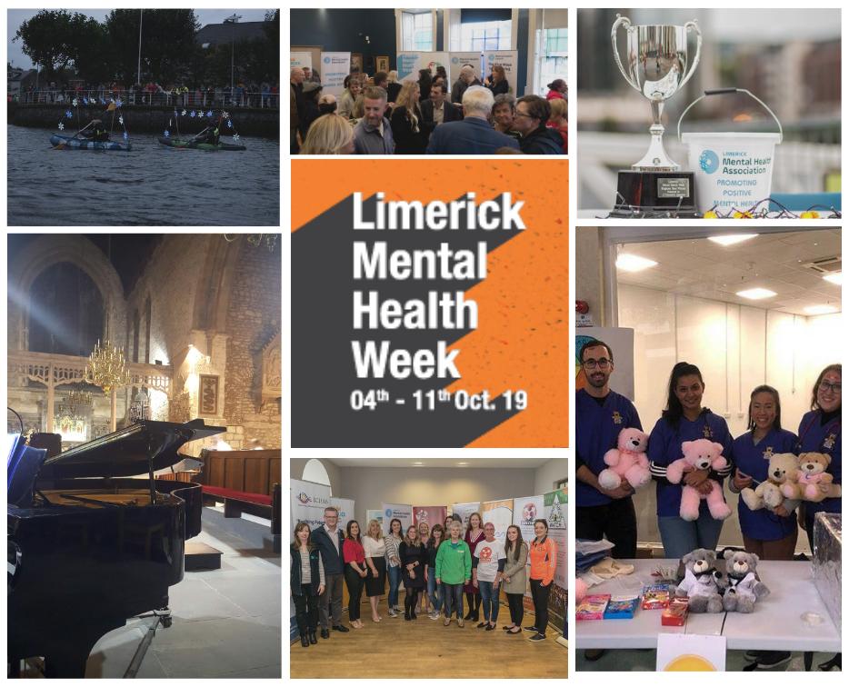 Limerick Mental Health Week collage