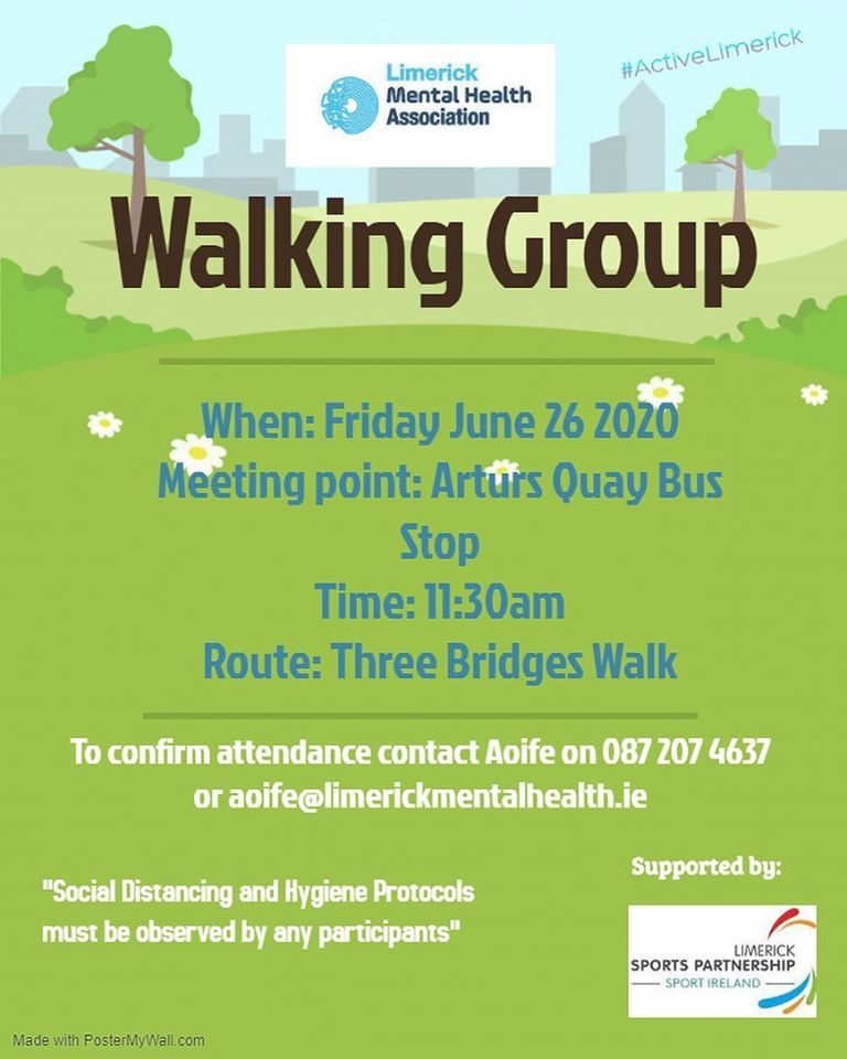 Our Walking Group is back!
