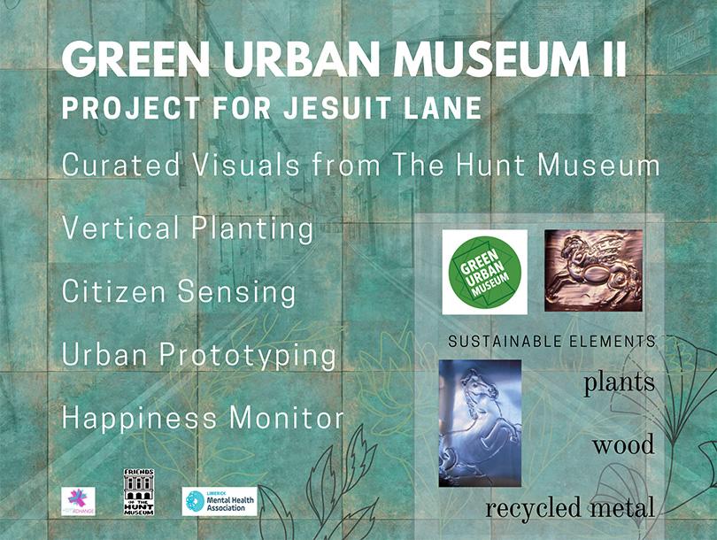 Green Urban Museum II Project for Jesuit Lane
