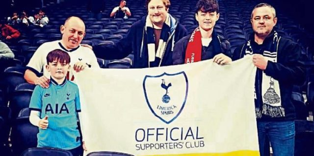 Limerick Spurs Supports Club Partners with LMHA