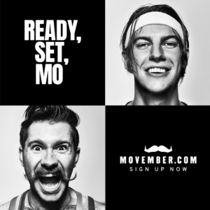 Movember 2020 - Sign Up Now