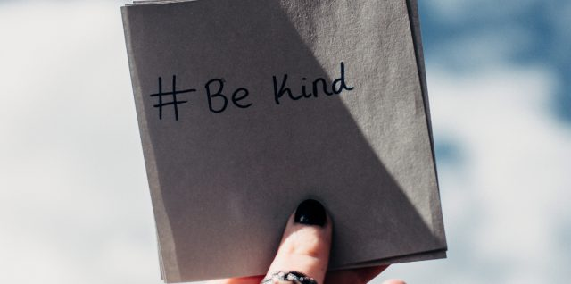 #BeKind - World Kindness Day, Fri 13th Nov