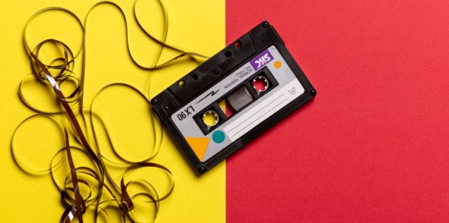 Cassette tape, nostalgia helps evoke positive feelings