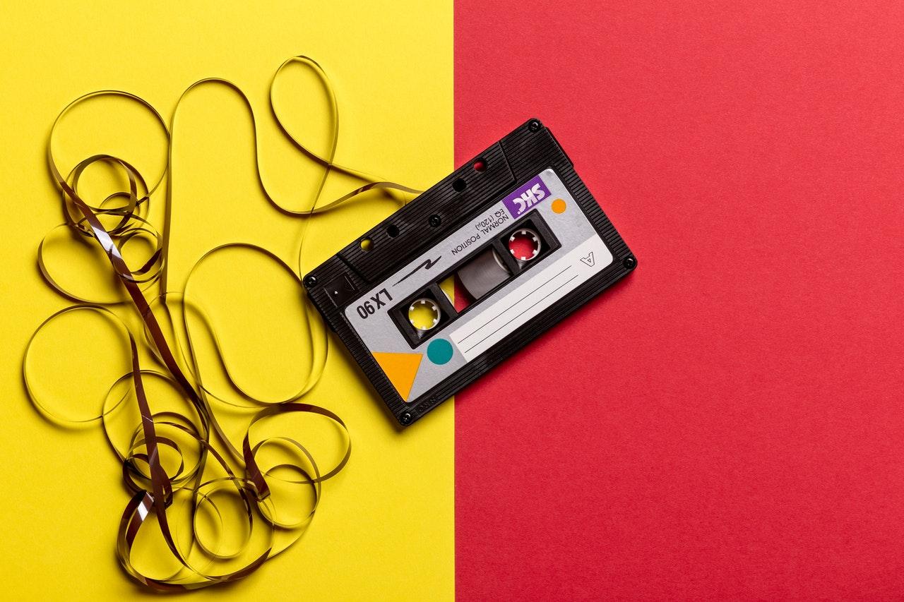 Cassette tape, nostalgia helps evoke positive feelings