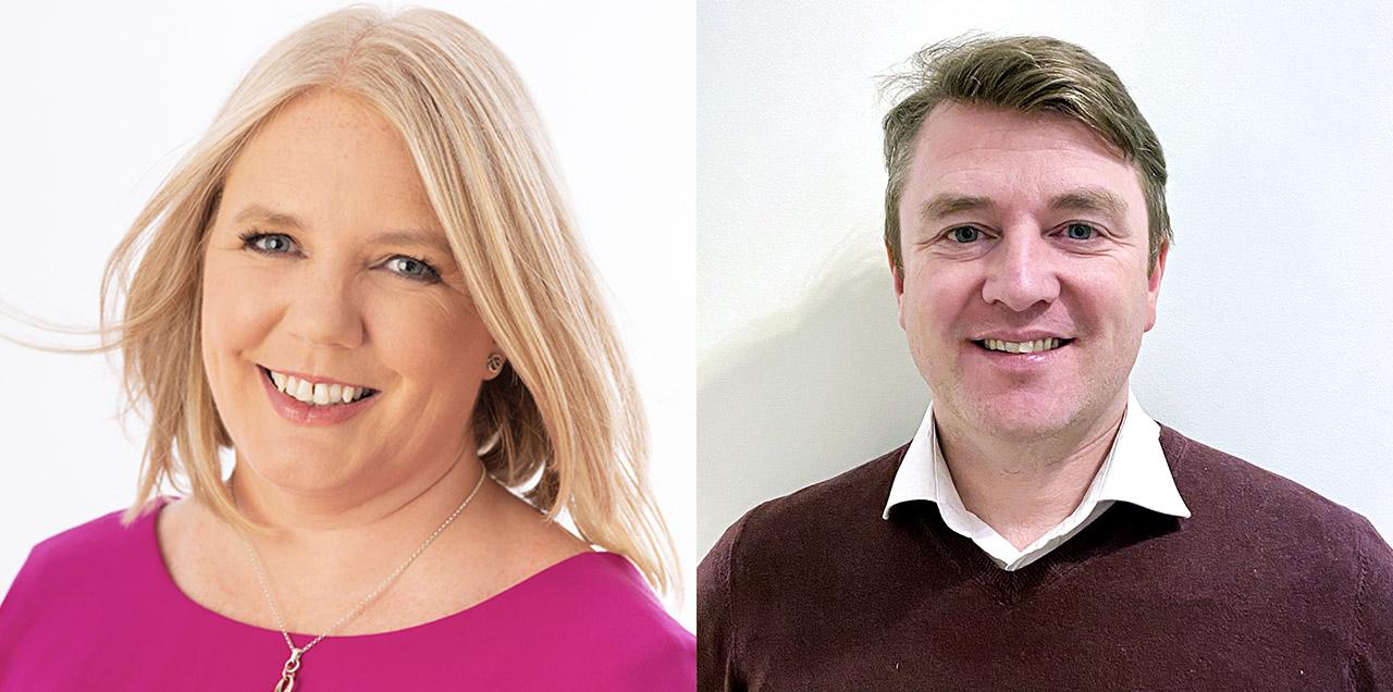 Lavinia Ryan-Duggan and Morgan Mangan, newest Board Members
