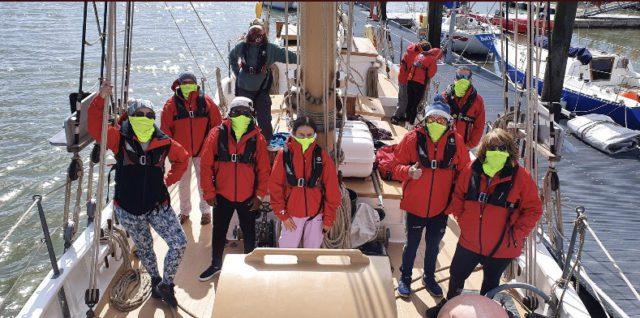 Women's Group Sailing Into Wellness