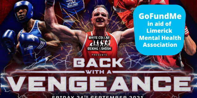 White collar boxing fundraiser in aid of LMHA